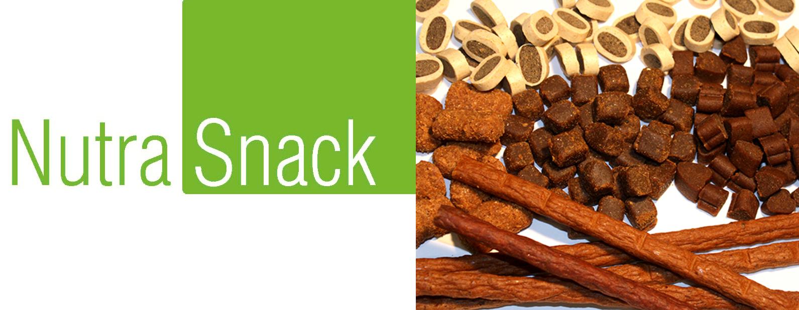 Nutrapet Systems für Tiernahrung NutraSnack Snacks & Sticks für Hunde und Katzen